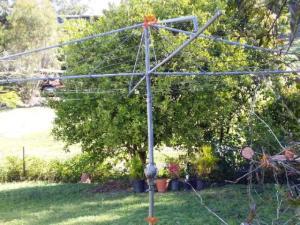 Maud's clothesline