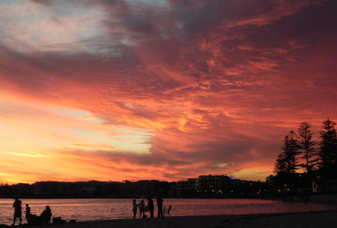 sunset - whispers all around